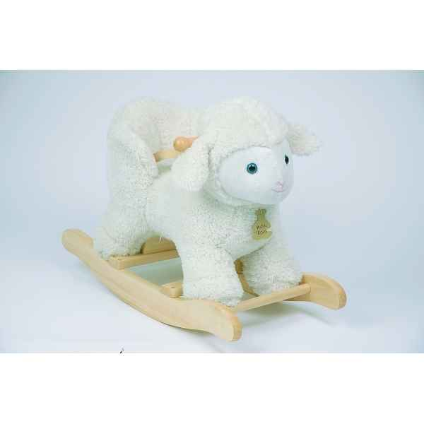 agneau bascule musical histoire d 39 ours avec siege b b 30cm ho voitures p dales. Black Bedroom Furniture Sets. Home Design Ideas
