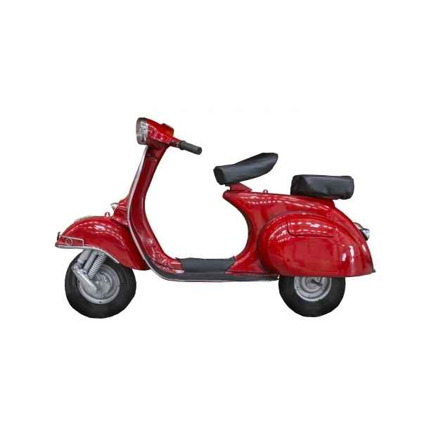1/2 vespa mural antique rouge retro antic -SEB15252