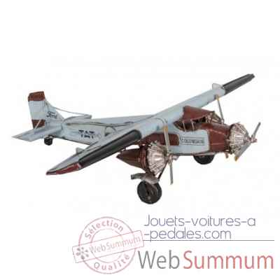 Avion bleu Antic Line -SEB15023