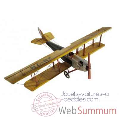 Avion jaune Antic Line -SEB14928