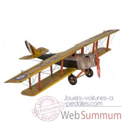 Avion jaune Antic Line -SEB15021