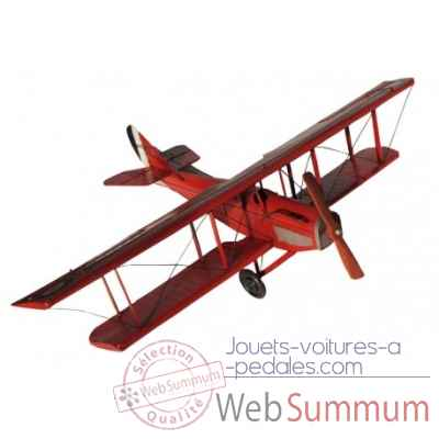 Avion rouge Antic Line -SEB14929