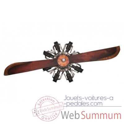 Helice d'avion 2 pales 200cm Antic Line -SEB16069