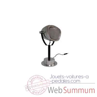 Lampe chrome phare de voiture Antic Line -SEB13295