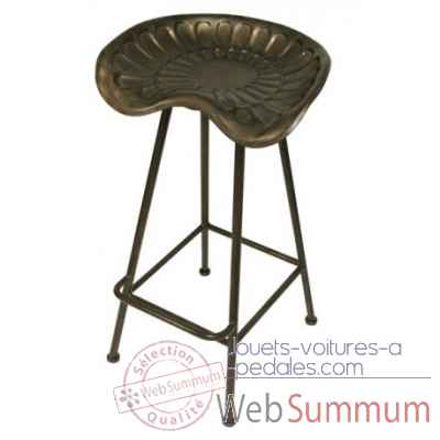 Tabouret de bar tracteur Antic Line -CD786