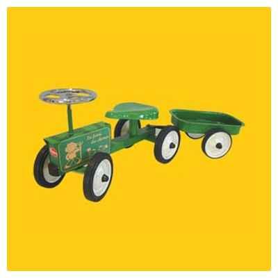 Tricycle Porteur A À Sur Baron Voiture Jouets Pedales N20 Trotteur OPTklXwZui