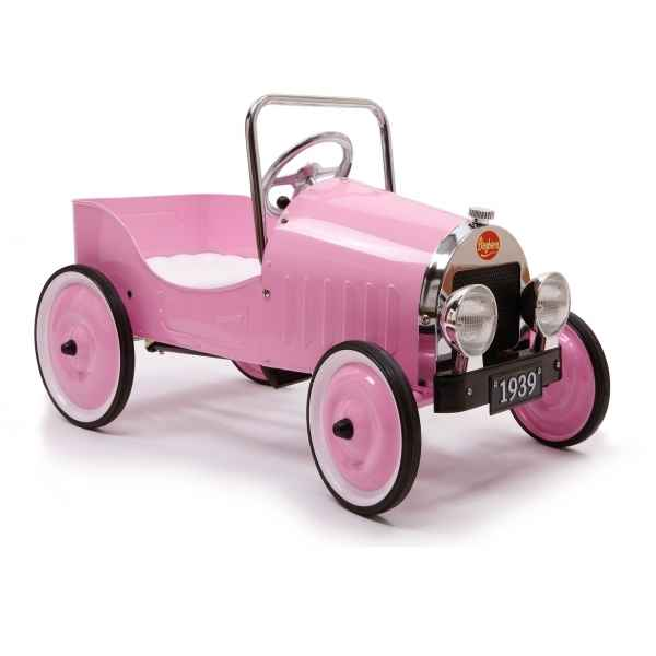 Video Voiture a pedales metal Rose Baghera  -1942