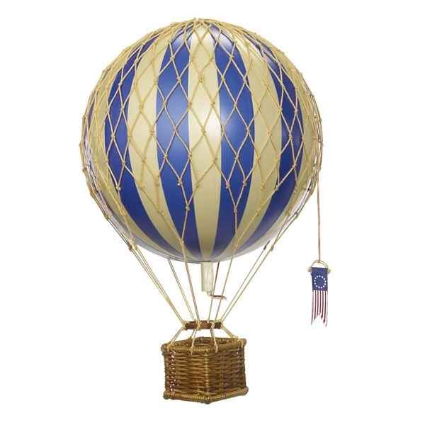 Replique Montgolfiere Plus Leger que l\\\'Air Bleu 18 cm -amfap161d
