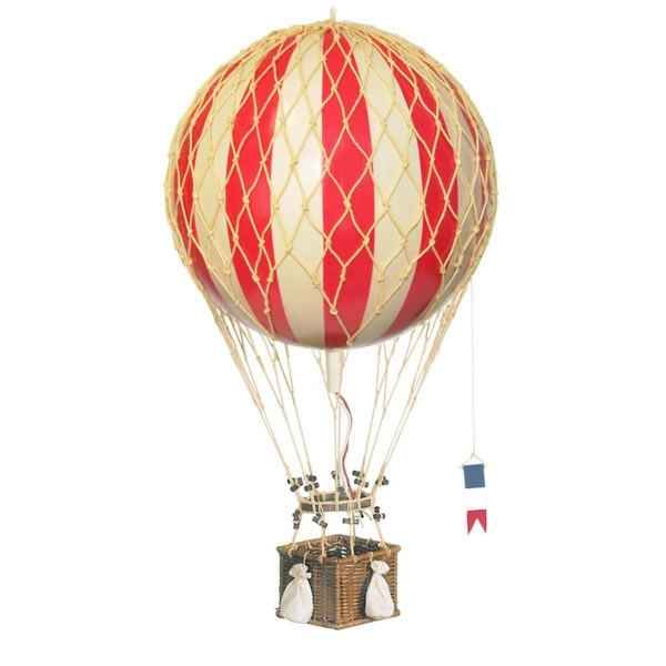 Video Replique Montgolfiere Ballon Rouge 32 cm -amfap163r