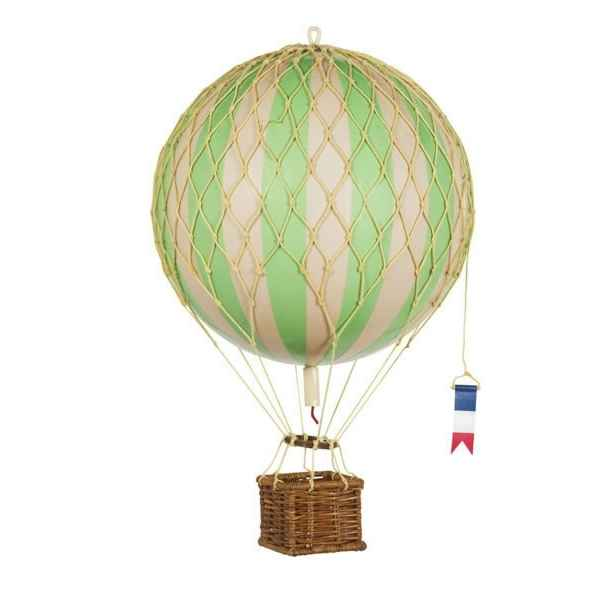 Video Replique Montgolfiere Ballon Vert 18 cm -amfap161g