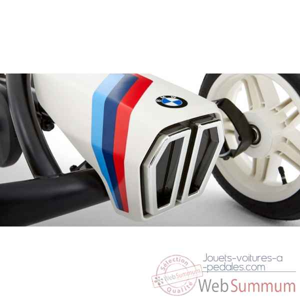 Kart a pedales bmw street racer blanc Berg Toys -24.21.64.00 -2