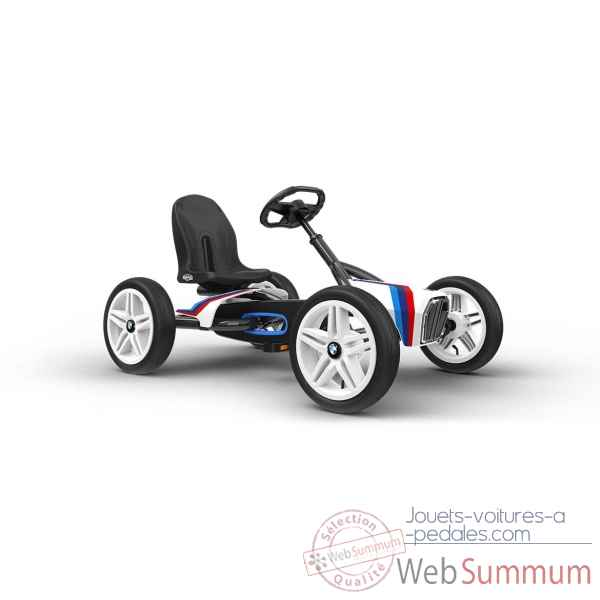 Kart a pedales bmw street racer blanc Berg Toys -24.21.64.00