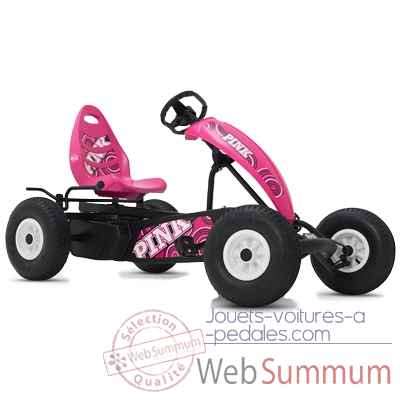 Kart a pedales compact pink bfr rose Berg Toys -07.30.02.01
