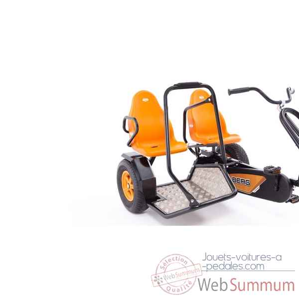 Kart a pedales duo chopper bf orange Berg Toys -07.12.00.00 -3