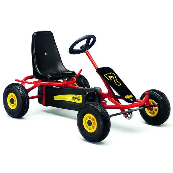 Kart a pedales sun-light f rouge berg toys -28.10.51