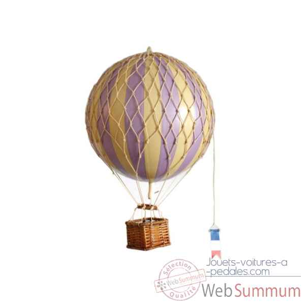 Replique Montgolfiere voyages legers, lavanda Decoration Marine AMF -AP161L