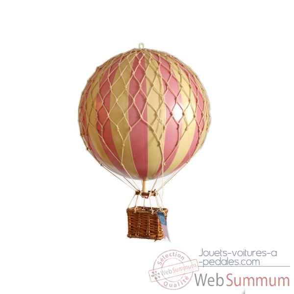 Replique Montgolfiere voyages legers, rose Decoration Marine AMF -AP161P
