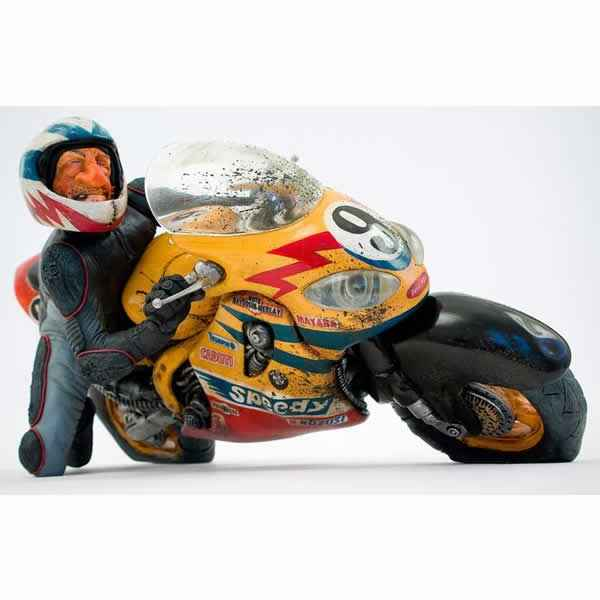 Figurine Speedy Motard Forchino -FO85057