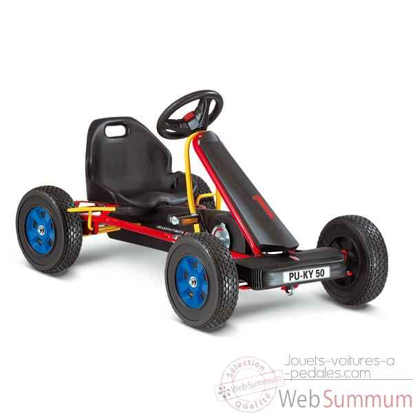 Video Karting a pedales rouge F 50 -3313
