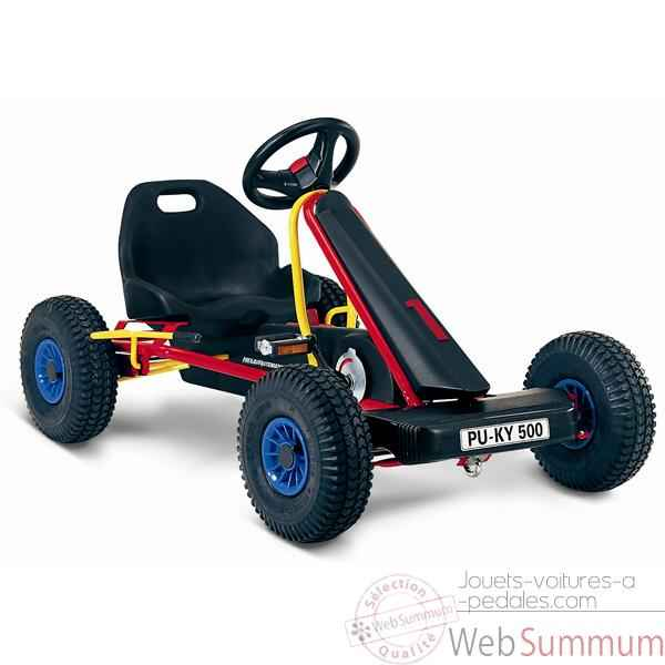 Video Karting a pedales rouge F 500L -3513