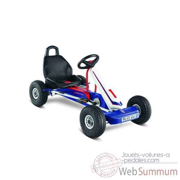 Video Karting a pedales Puky blanc Bleu 3 vitesses F 600LS