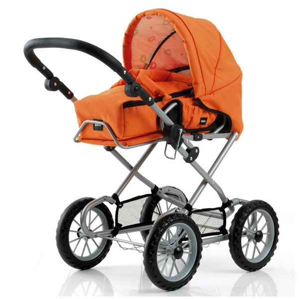 Video Poussette poupee Combi orange - Brio 24890307