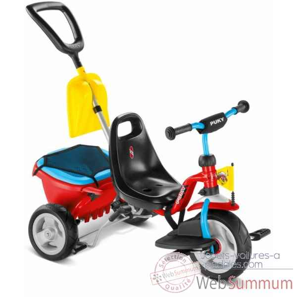 Tricycle + access rouge-bleu Puky -2459