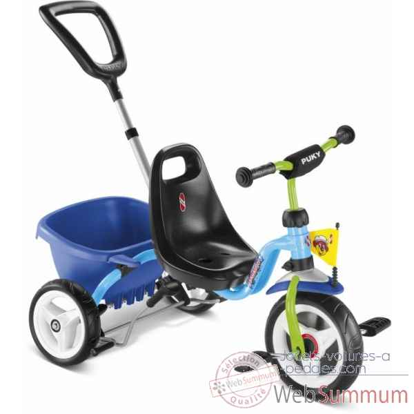 Tricycle bleu-kiwi Puky -2226