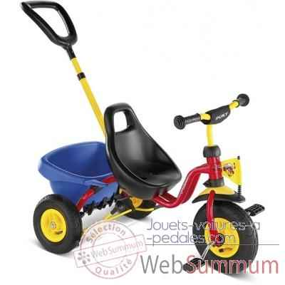 Tricycle cat1l rouge puky 2363