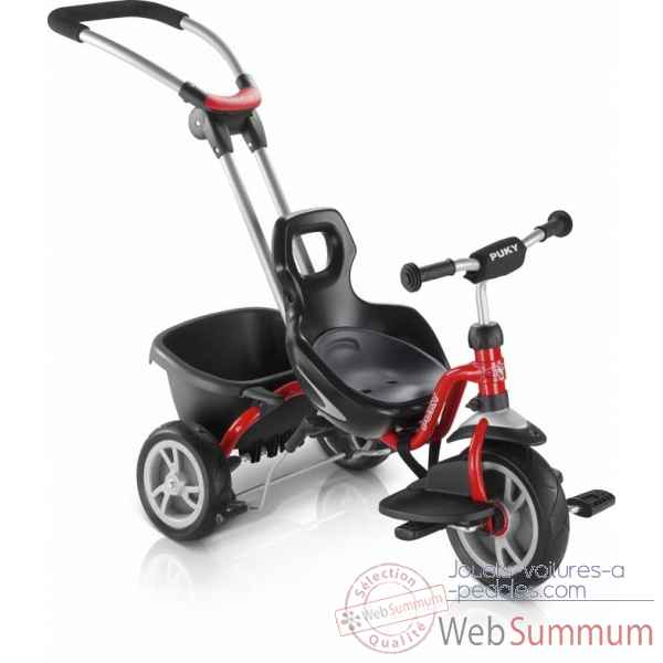 tricycle ceety rouge puky 2493 photos jouets voiture a pedales de puky. Black Bedroom Furniture Sets. Home Design Ideas