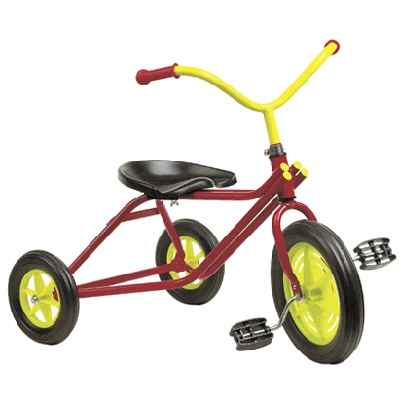 Tricycle N°23 tricolore de 2 a 4 ans-00111L