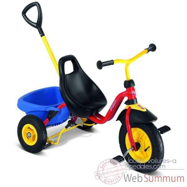 Tricycle Puky Cat2l Rouge -2353