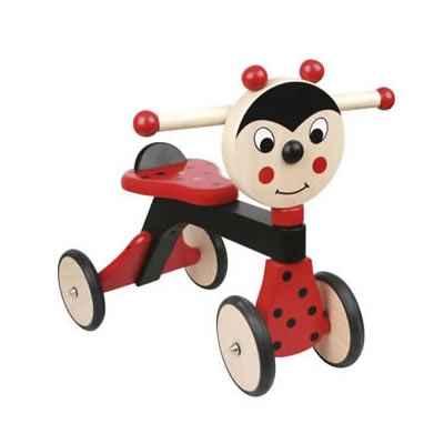 trotteur bois jasper toys coccinelle 5049365 dans porteur enfant. Black Bedroom Furniture Sets. Home Design Ideas