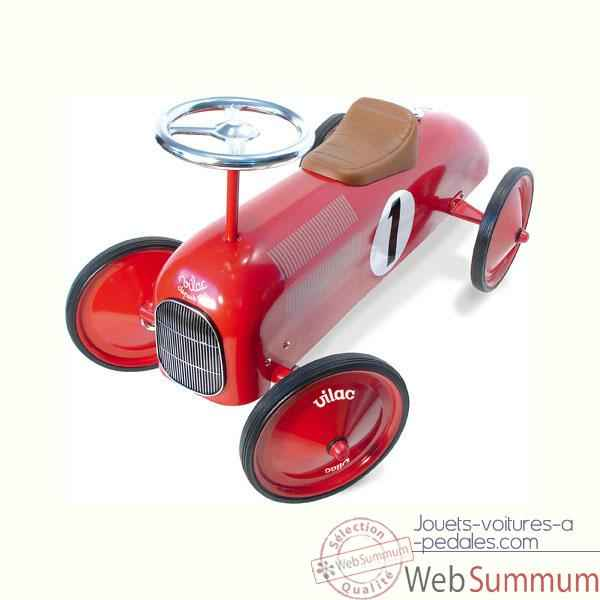 Video Voiture metal porteur rouge Vilac -1049